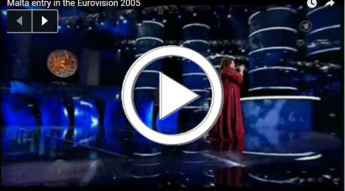 FLASHBACK: Chiara's ANGEL Wins Second Place At ESC 2005