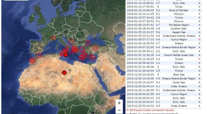 4.4 Earthquake Felt in Malta