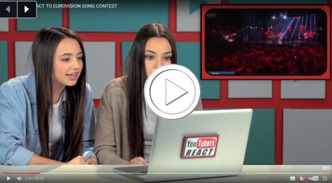 VIDEO: YouTubers React to Eurovision