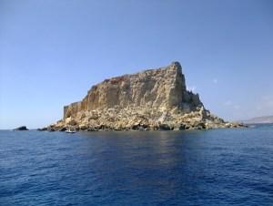 Filfla dive site next to Blue Grotto Malta