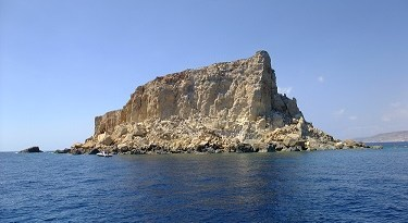 Filfla dive site next to Blue Grotto Malta