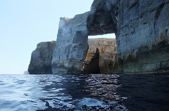 Mielah Arch Gozo Dive site