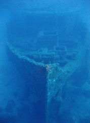 Wreck in Malta Imperial Eagle