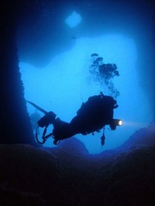 Cavern Diving at Wied Bassasa Malta