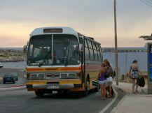 Régebbi busz Marfánál 2009-ben