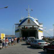 Életem első hajóútja: beszállás az M/v Gaudosba Ċirkewwában, 2009-ben
