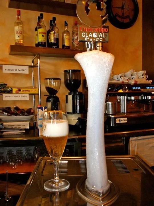Grifo cerveza Helado