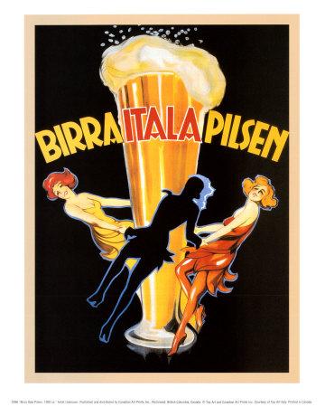 Anuncio cerveza Birra Itala Pilsen