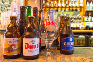 Drinks - photo of Belgian bottled beers
