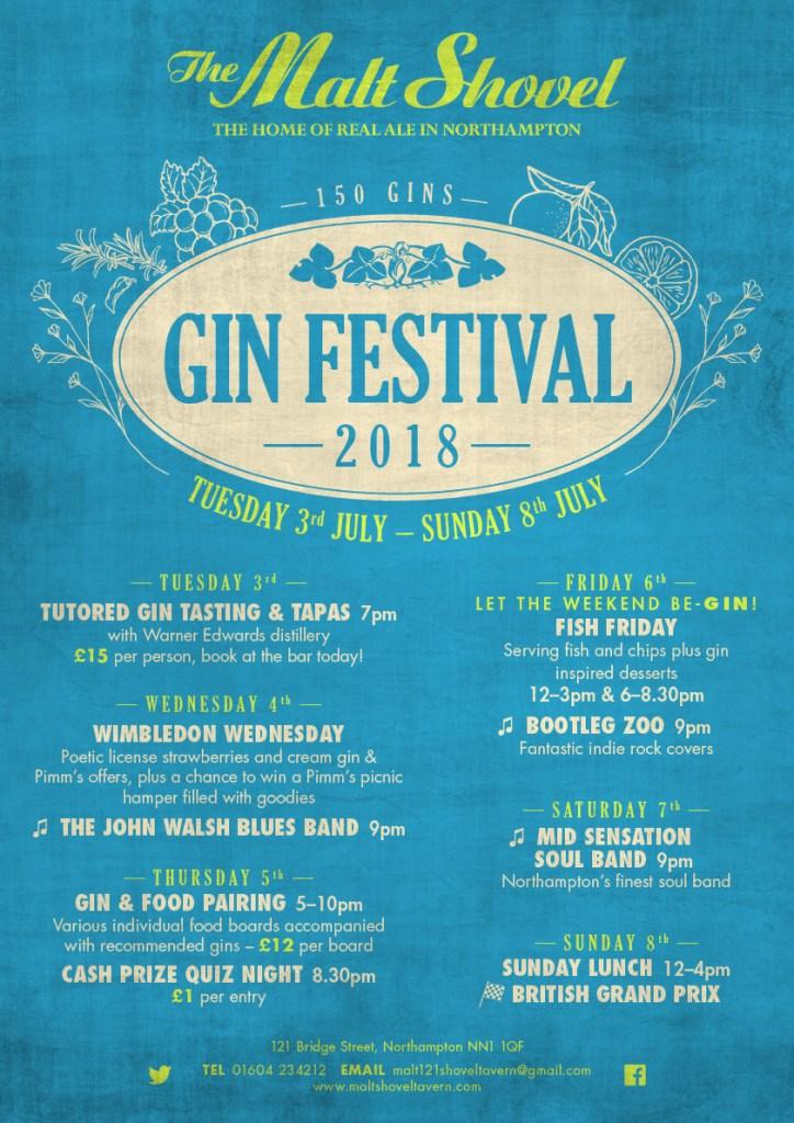 Malt Shovel Gin Festival web