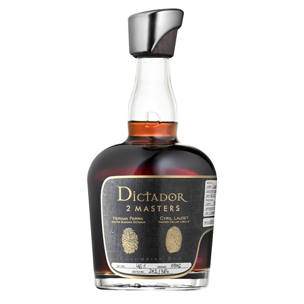 Bottle_Dictador 2 Masters Laballe 1976 (Armagnac) - Front
