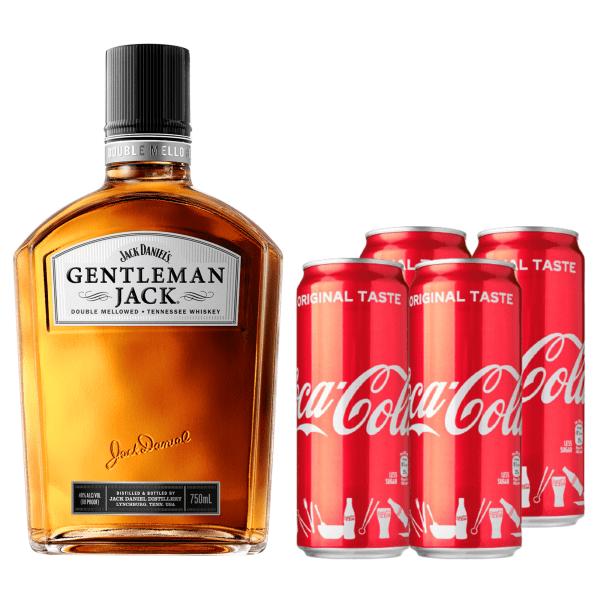 Gentleman Jack + Coke