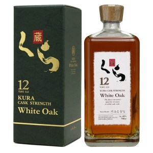 Bottle_Kura 12 Year Old White Oak Whisky - Box