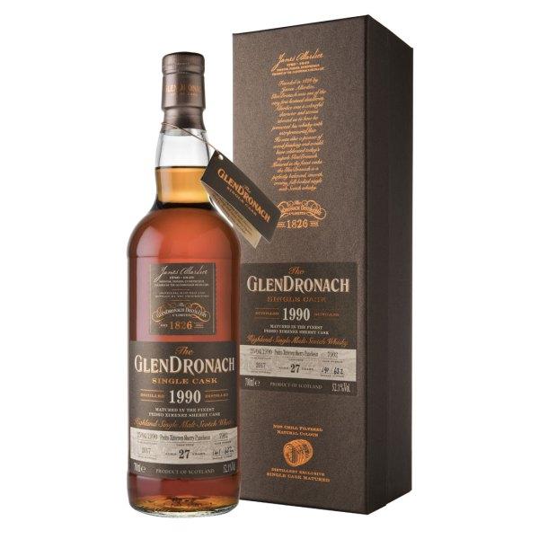 Bottle-The-GlenDronach-27-Years-1990-Cask-7902-Batch-16