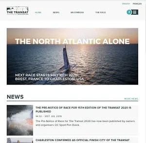 TheTransat homepage