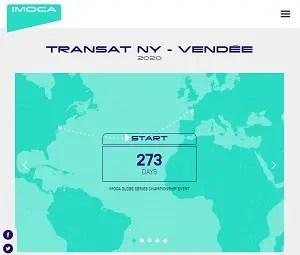 Transat NY-VANDEE webpage