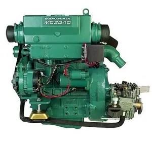 ヨットのディーゼルエンジン