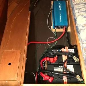 MALUのバッテリーシステム