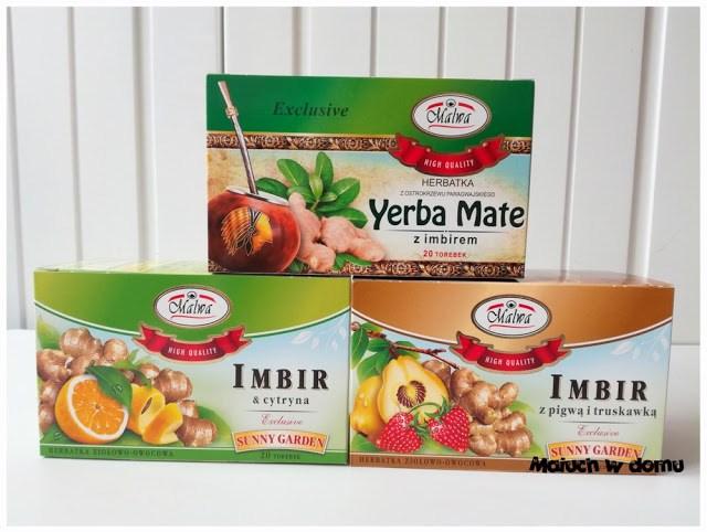 Herbatki z Imbirem Malwa