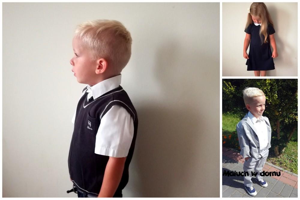 Ubranie galowe przedszkolaka