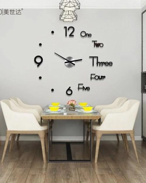 Relógio Decorativo 3D