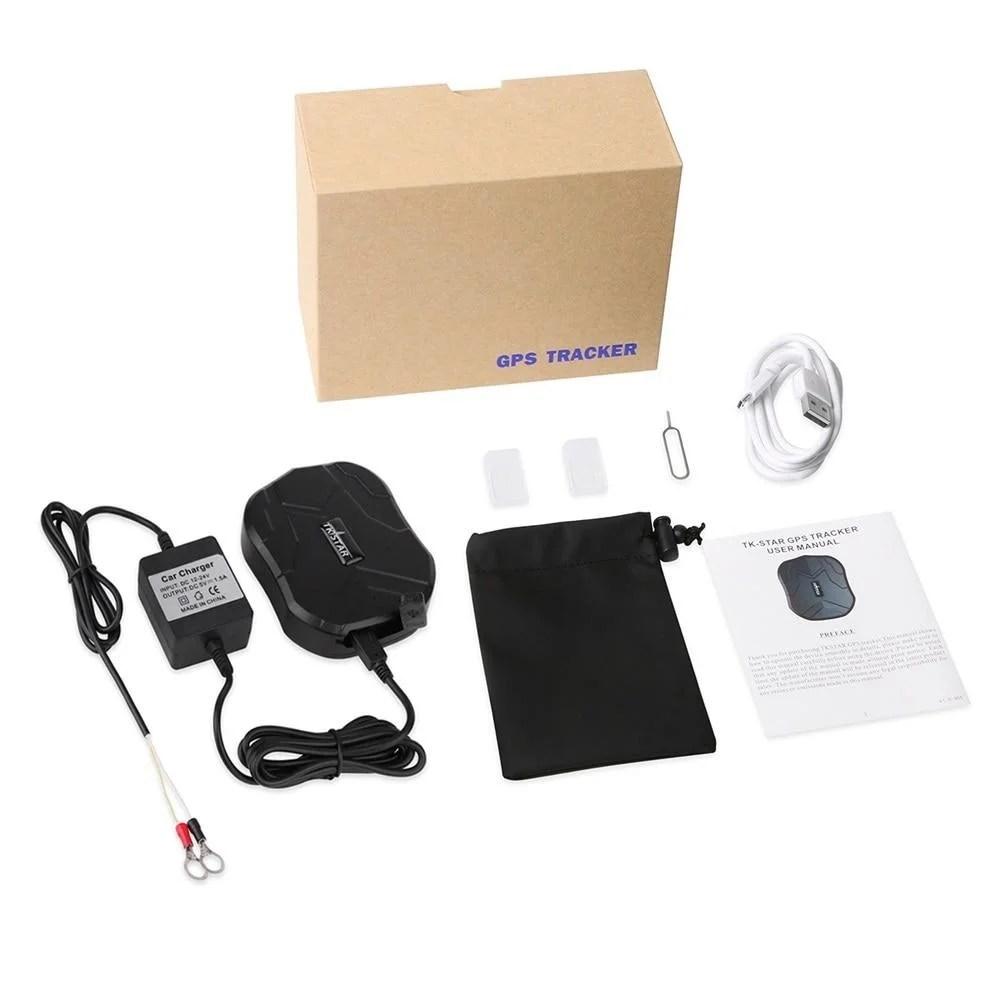 Rastreador Espião Com Escuta Ima Potente Bateria Alta Duração