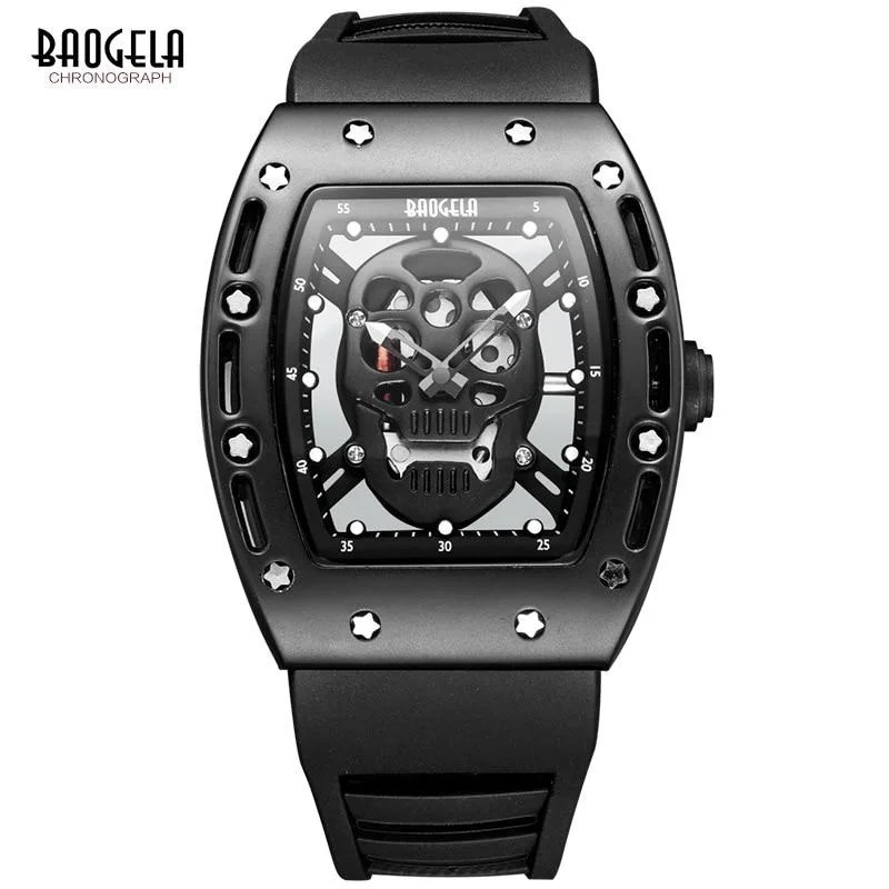 Relógio Baogela Skeleton LX
