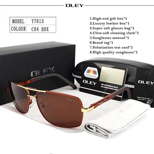 Óculos De Sol Esportivo OLEY