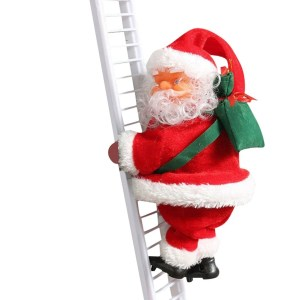 Papai Noel Escala Escada Com Música