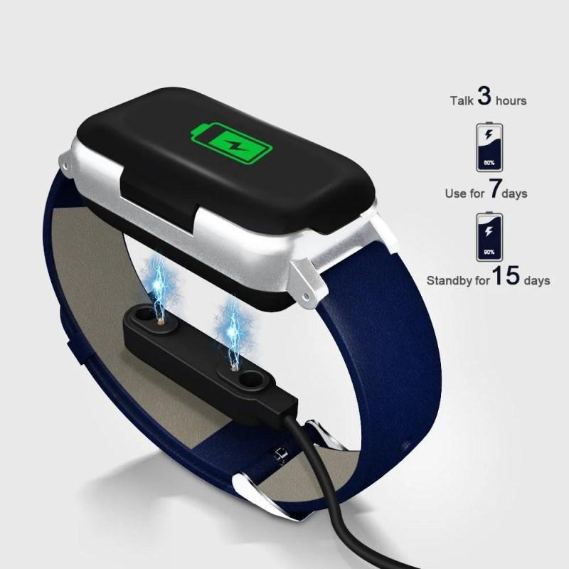 Relógio Inteligente Com Fone De Ouvido Sem Fio (2 em 1)