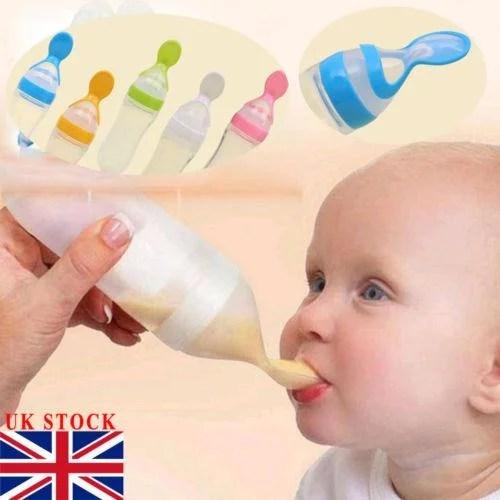 Colher Alimentadora Para Bebês