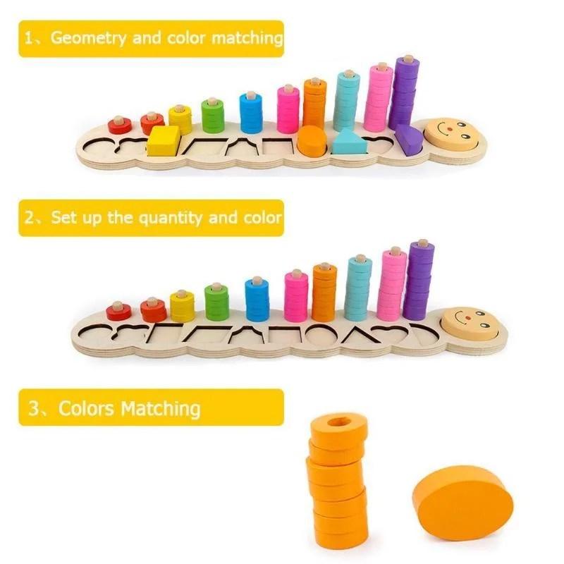 Brinquedo Montessoriano Pedagógico Ecológico