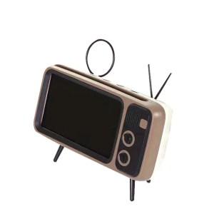 Suporte de Telefone Celular Retro (Auto-Falante Bluetooth)