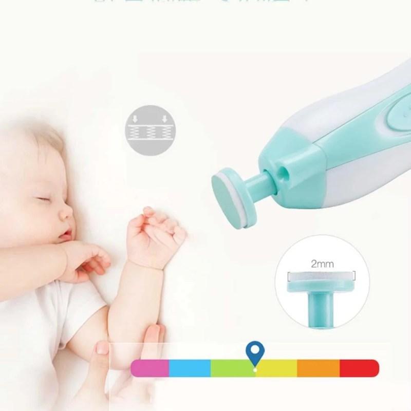 Aparador De Unhas Do Bebê Com Luz LED