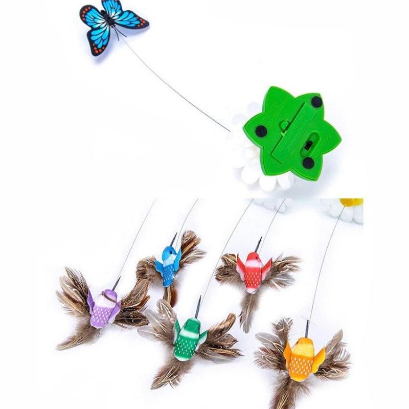 Brinquedo Interativo De Pássaro Para Gatos