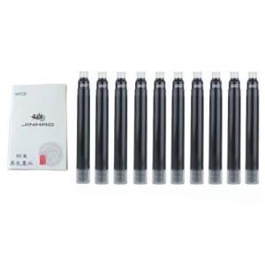 10 Peças JINHAO X450 Preto Recarregável