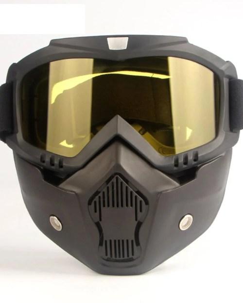 Máscara Protetora Para Motociclistas