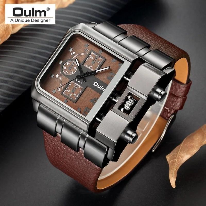 Relógio Masculino Quartz Casual