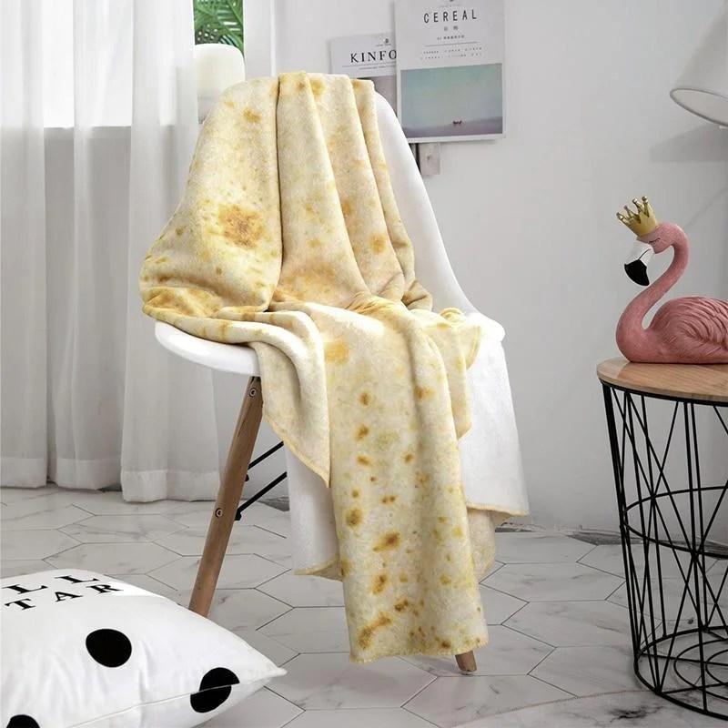 Cobertor De Burrito Super Macio