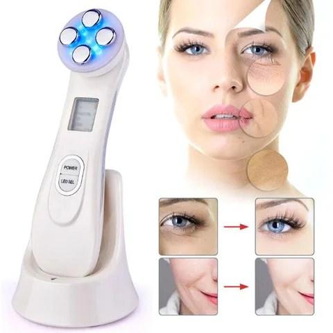 Aparelho 5 em 1 Tratamento Facial - Fototerapia Led