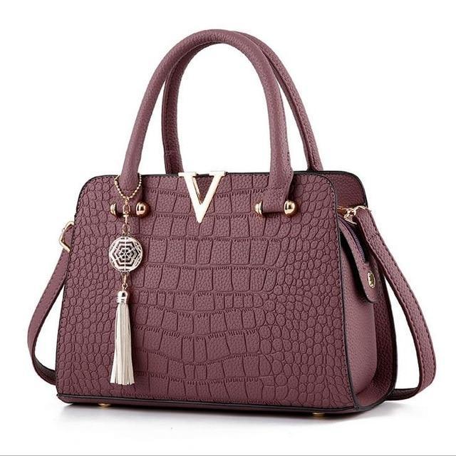 Bolsa Crocodile leather Bag