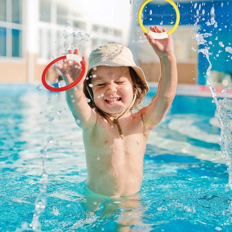 Jogo de mergulho, brinquedos para piscina.