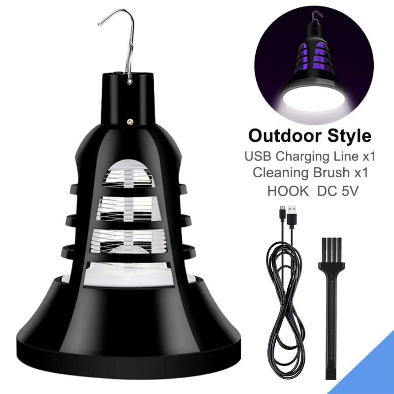 Lâmpada Led de Mata-Mosquitos, 220v Luz Noturna 18 Leds USB 5v