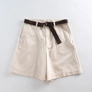 Shorts Feminino Social - Bege - M