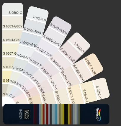 Interaktywny wachlarz kolorów NCS