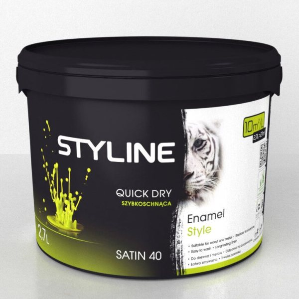 Styline Enamel Aqua Satin