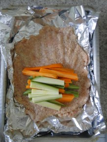 Rocambole de frango - Passo 1