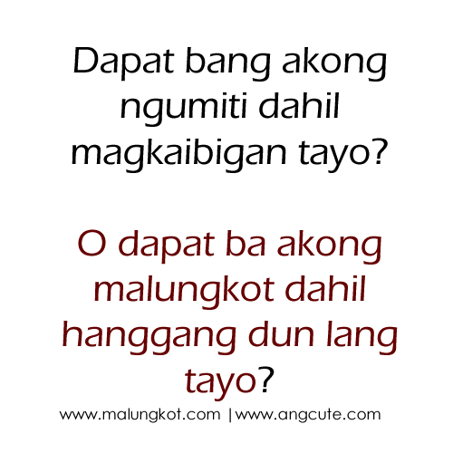 Tagalog Love Quotes Her Tumblr