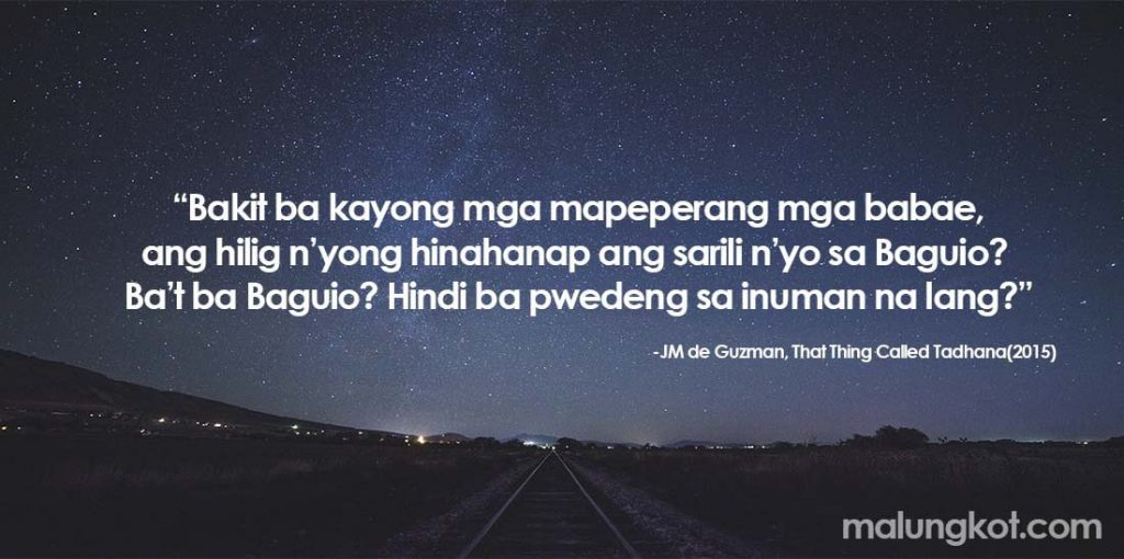 Lines English Hugot About Love