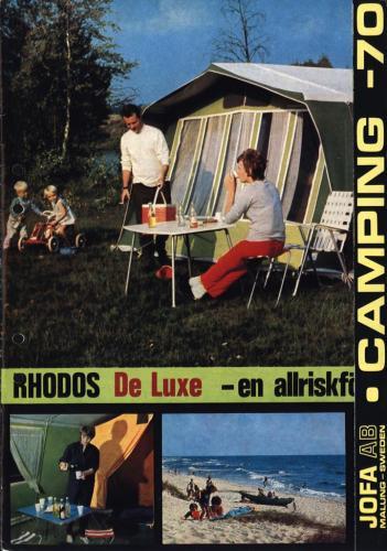 JOFA Oskar Camping Jofa Camping 1970 0488